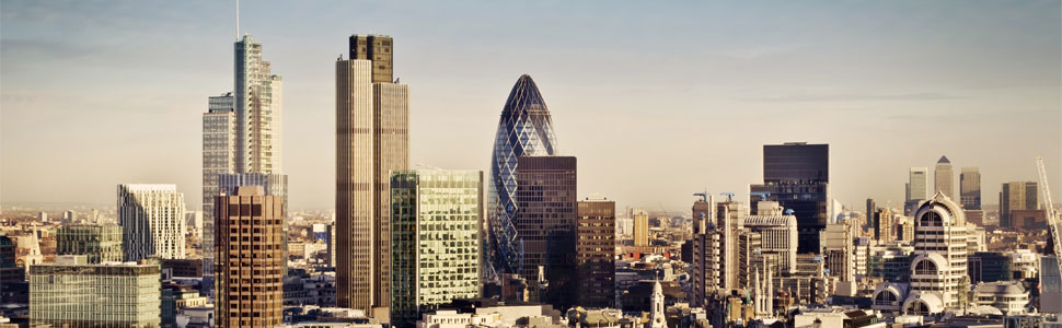 Image of the City of London - home of Square Mile Insurance Services Ltd