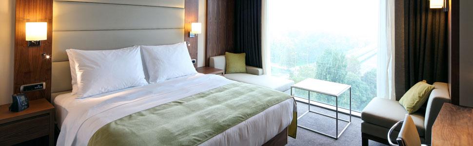 Fully insured hotel room
